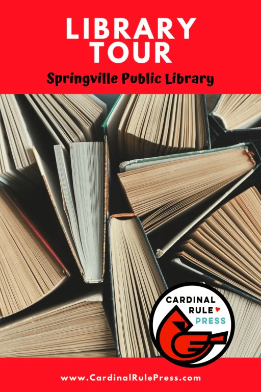Summer Library Tour: Springville Public Library-We heard from Lauren Tolman and  got to take an inside look into these creative spaces that house our favorite things---books and books and readers! #LibraryTour #SummerTour  #SpringvillePublicLibrary