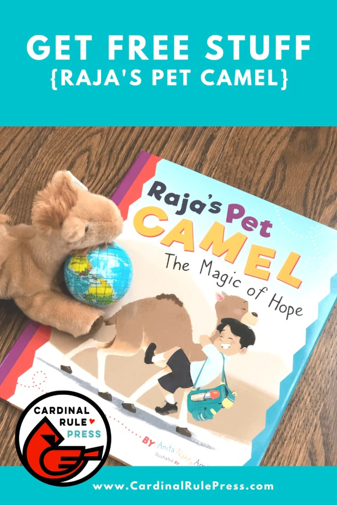 Get Cool Stuff: Raja's Pet Camel Pre Order Campaign - For every book ordered BEFORE October 1st, we will gift a package of goodies (while supplies last!) #GetCoolStuff #RajasPetCamel #BookLaunch #BooksToRead #PreorderCampaign