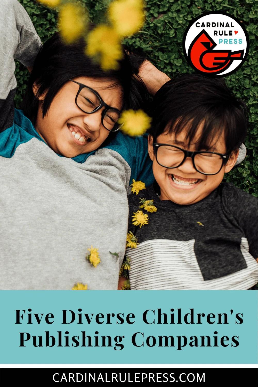 Five Diverse Children's Publishing Companies