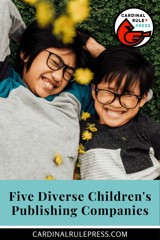 Five Diverse Children's Publishing Companies. Publishers out in the world trying to be inclusive of everyone. #PictureBooks #ChildrensBooks #Diversity #Publisher