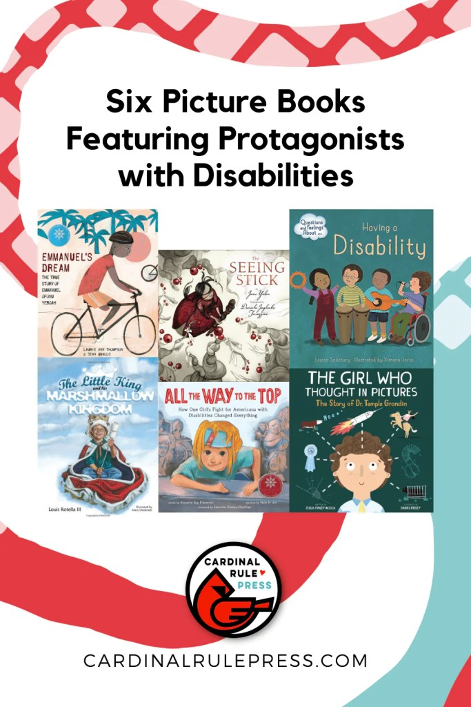 Picture Books Featuring Protagonists with Disabilities. October is National Disability Employment Awareness month, and while our kids might not be out on the job market yet, that doesn't mean it's too early to learn about people who might be different from them. #PictureBooks #ProtagonistsWithDisabilities #ChildrensBooks #NationalDisabilityEmploymentMonth
