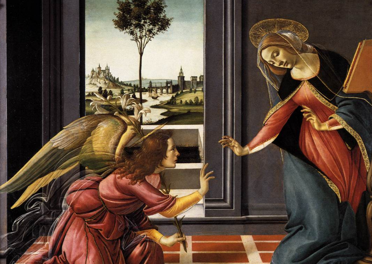 the annunciation of the