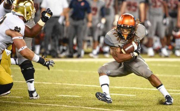 RB Prince Tyson-Gulley. Photo Stephen D. Cannerelli/Syracuse.com