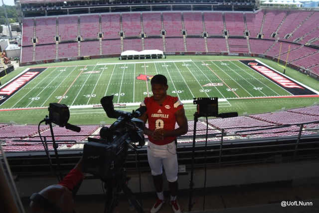 Lamar Jackson at PJCS