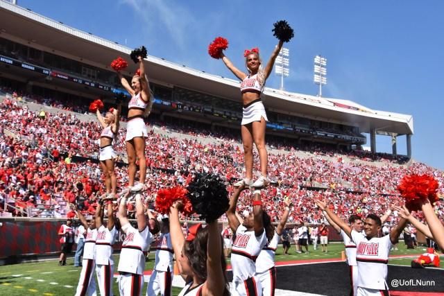 Louisville Cheerleaders