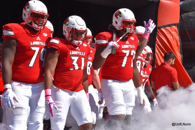 Louisville Football entrance