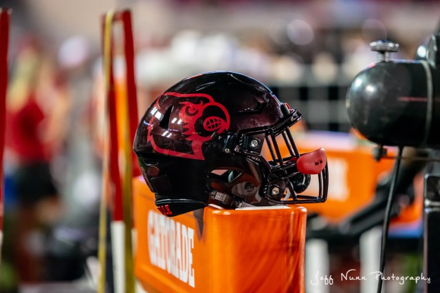 Louisville Football Helmet