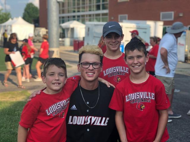 Hoopingarner Boys and Luke Regionals