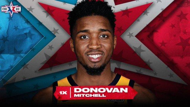 Donovan Mitchell All Star