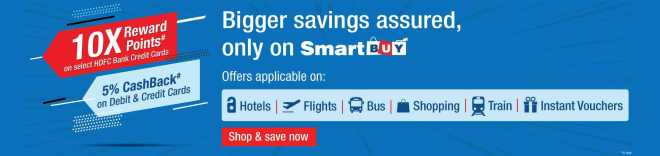 HDFC Bank 10x smartbuy