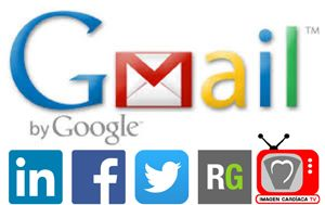 Redes sociales en la firma de Gmail