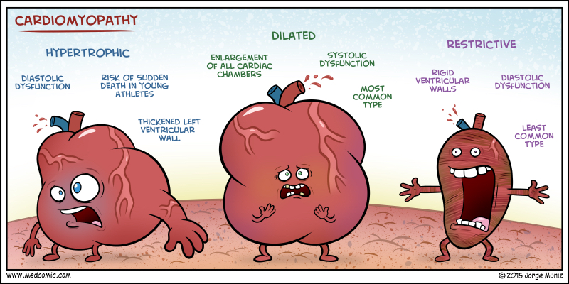 but cardiomyopathy isn t supposed to be funny