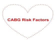 CABG risk factors