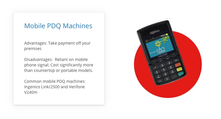 Mobile PDQ Devices