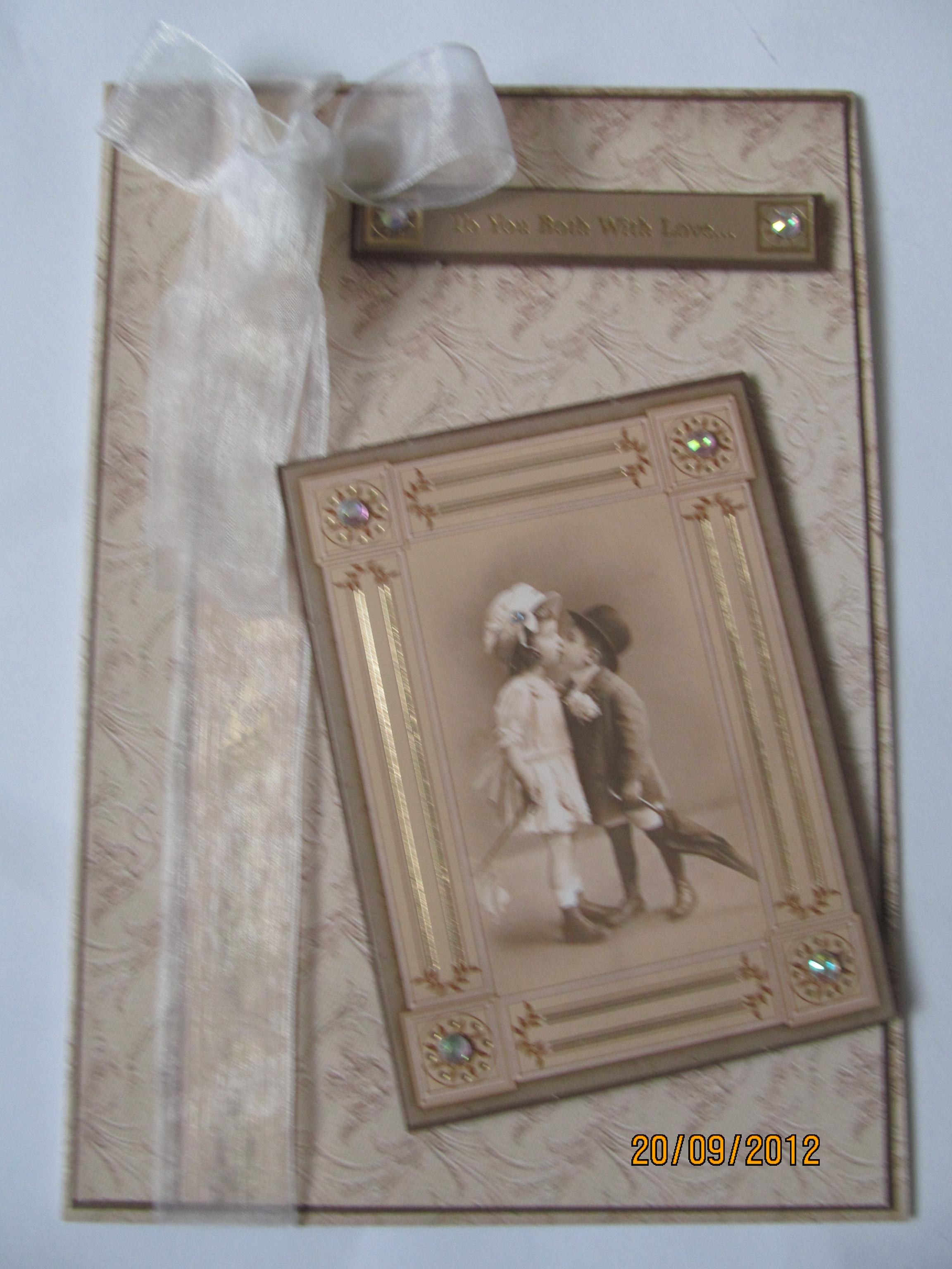 Handmade Vintage Birthday Cards Gill Hill's Cards