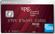 The Starwood Preferred Guest®* Credit Card from American Express