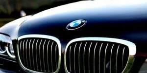 BMW front grill