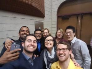 Microbiology selfie