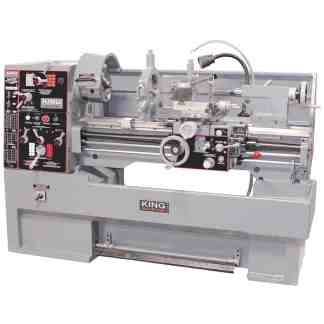 King High P Metal lathe