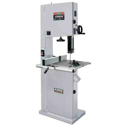 """King 17"""" Wood Bandsaw with Resaw guide"""