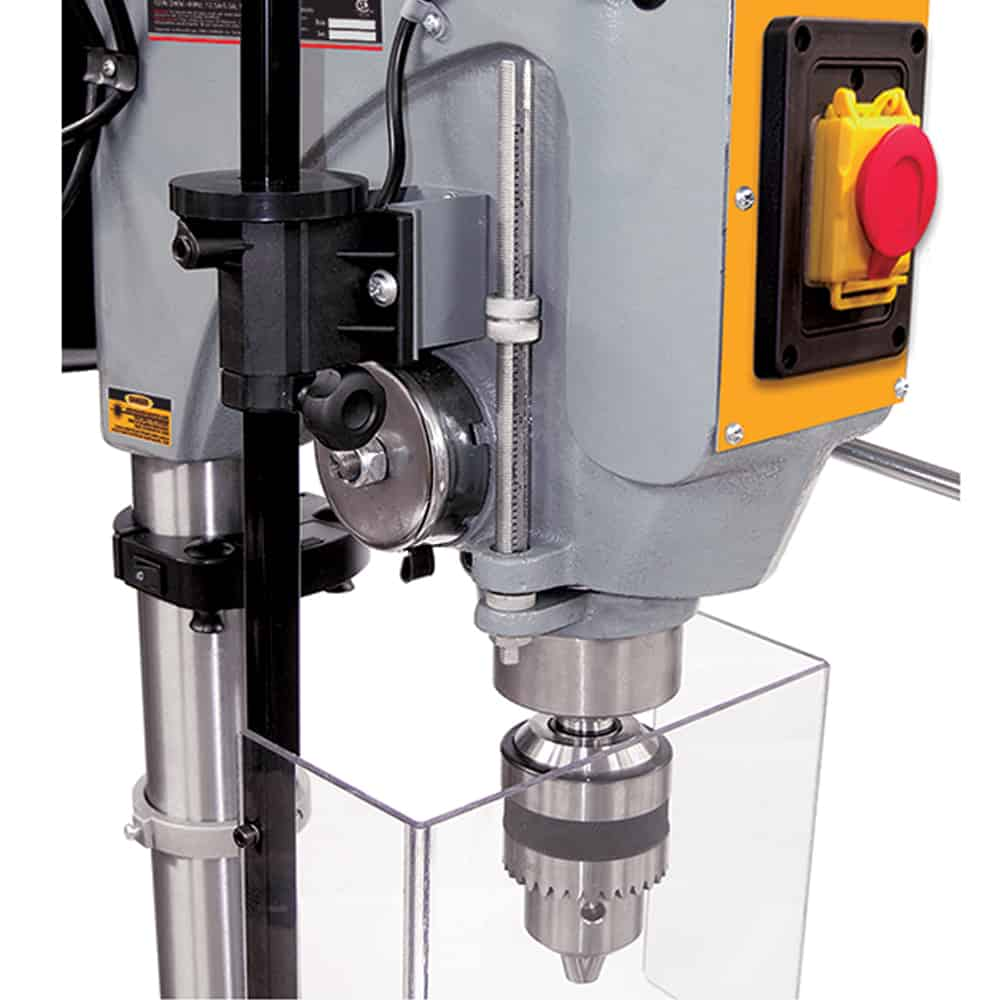 Drill Press Guard >> New King 17 Long Stroke Drill Press With Safety Guard Kc 119fc Ls