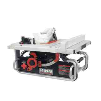 "King 10"" Portable Worksite Table Saw"