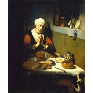 woman at prayer
