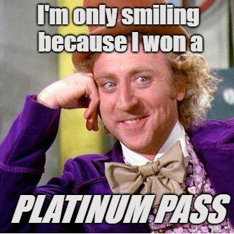 Willy Wonka Platinum Pass