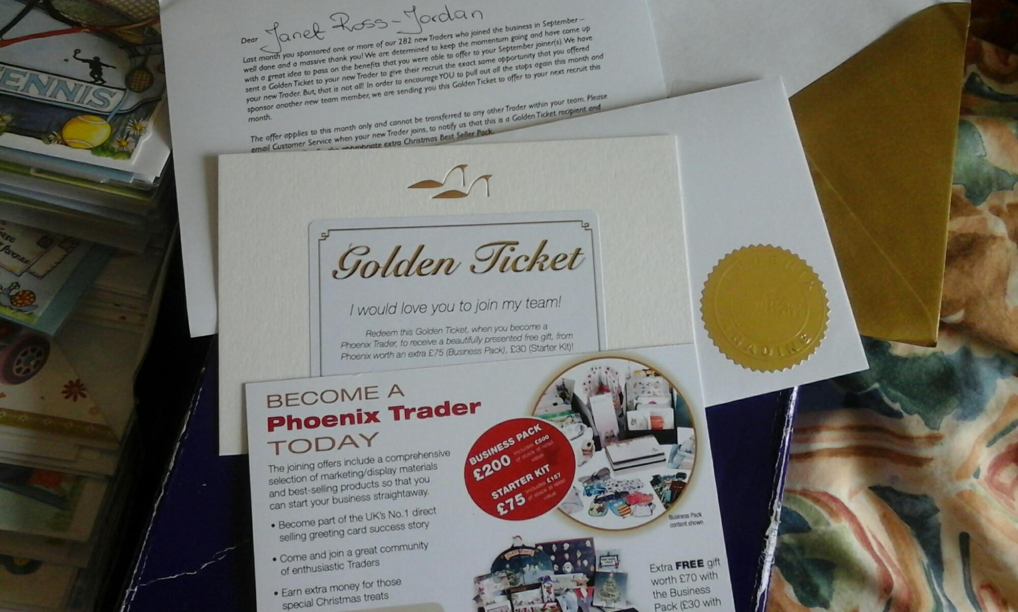 Phoenix Trading Golden Ticket