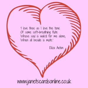 Eliza Acton love poem quote valentines day