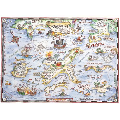 Treasure Map Gift Wrap