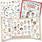 Funny Faces sticker set