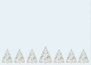 Christmas Trees notecards