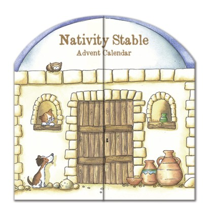 nativity stable advent calendar