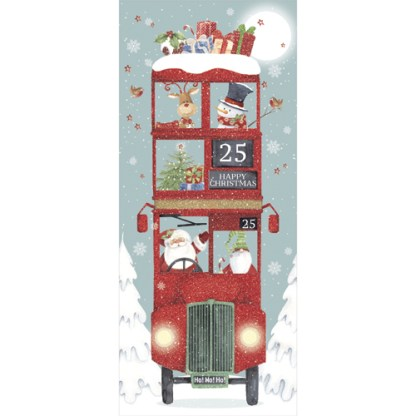 christmas bus christmas cards
