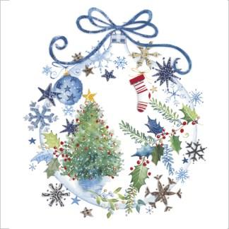 christmas bauble christmas cards