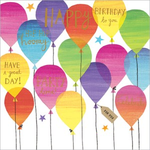 FP6019 birthday balloons