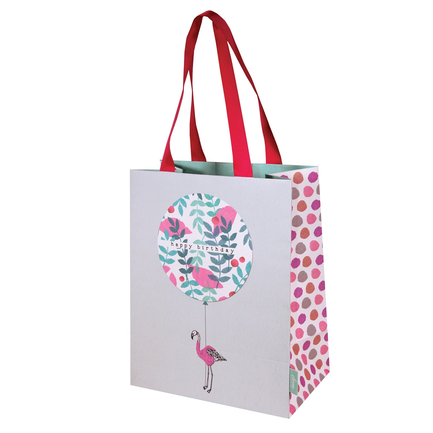 stop the clock birthday flamingo gift bag cards and gift wrap shop e42fba9ae