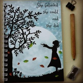 she believed notebook
