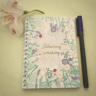 blooming amazing notebook
