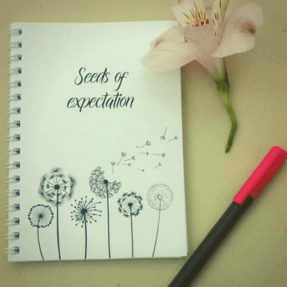 seeds of expectation notebook