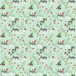 Mistletoe gift wrap