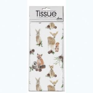 forest animals tissue