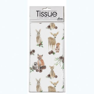 forest animals tissue