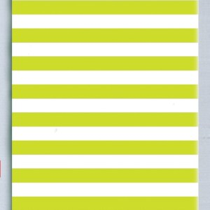 Lime stripe tissue