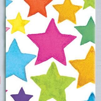 Rainbow Stars Tissue
