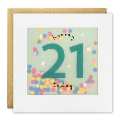 21 today shakies card