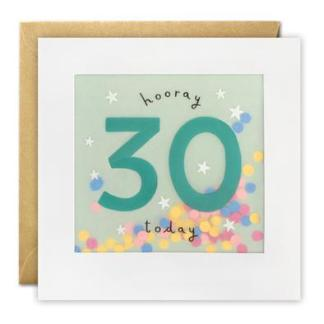 30 today shakies card