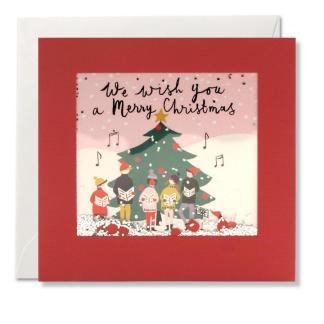 Single Christmas cards