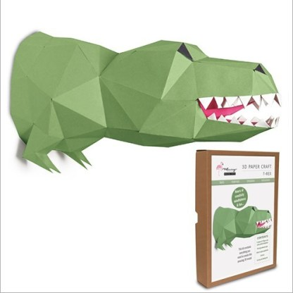 T Rex papercraft kit